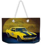 Racing Camaro Weekender Tote Bag