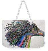 Racing The Wind ... A Story Painting Weekender Tote Bag
