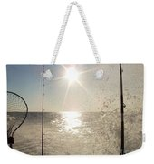 Racing To The Fishing Grounds Weekender Tote Bag