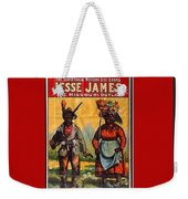 Racist Poster For Jesse James Theatrical Presentation No Location Or Date-2013  Weekender Tote Bag