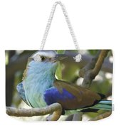 Racket Tailed Roller Weekender Tote Bag