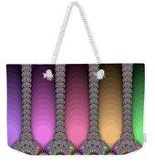 Radiant Columns Weekender Tote Bag