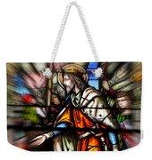 Radiant Jesus Weekender Tote Bag