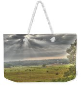 Radiant Light Over The Farm Weekender Tote Bag
