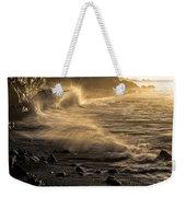 Radiant Sunrise Surf Weekender Tote Bag