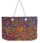 Radiation Blue Weekender Tote Bag