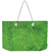 Radiation Green Weekender Tote Bag