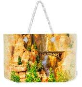 Radiator Springs Waterfall Weekender Tote Bag