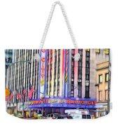 Radio City Music Hall New York City - 2 Weekender Tote Bag