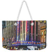 Radio City Music Hall New York City- 1 Weekender Tote Bag