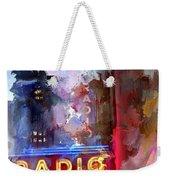 Radio City New York Weekender Tote Bag