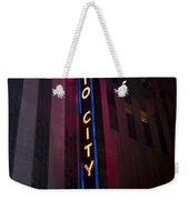 Radio City Weekender Tote Bag