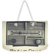 Radio Days Weekender Tote Bag by Edward Fielding