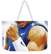 Rafael Nadal Artwork Weekender Tote Bag