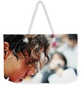 Rafael Nadal From Up Close Weekender Tote Bag