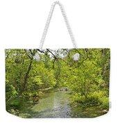 Rafting The Springs Weekender Tote Bag