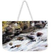 Raging River Weekender Tote Bag