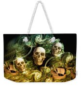 Raging Wars Of Pirates Past Weekender Tote Bag