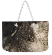 Raging, Wotan Rides To The Rock! Like Weekender Tote Bag by Arthur Rackham