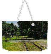 Rail Crossing Weekender Tote Bag