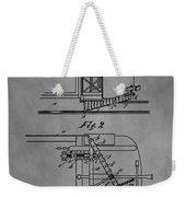 Railcar Fender Weekender Tote Bag