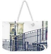 Railings And Lamp Weekender Tote Bag