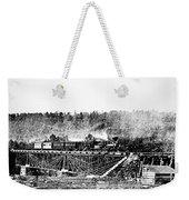 Railroad Bridge, 1858 Weekender Tote Bag