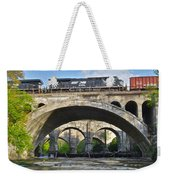 Railroad Bridges Weekender Tote Bag