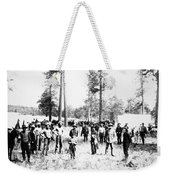 Railroad Camp, 1880s Weekender Tote Bag