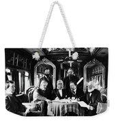 Railroad Directors, C1868 Weekender Tote Bag