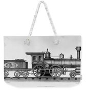 Railroad Engine, C1874 Weekender Tote Bag