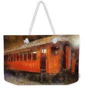 Railroad Gary Flyer Photo Art 02 Weekender Tote Bag