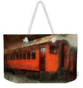 Railroad Gary Flyer Photo Art 03 Weekender Tote Bag