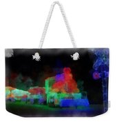 Railroad Led Train Photo Art 01 Weekender Tote Bag
