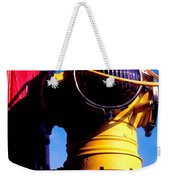 Railroad Oil Lantern Weekender Tote Bag