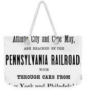 Railroad Resorts, 1884 Weekender Tote Bag