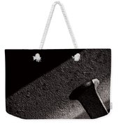 Railroad Spike And Rail Weekender Tote Bag