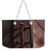 Railroad Spike Handles Weekender Tote Bag