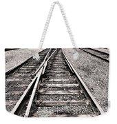 Railroad Switch Weekender Tote Bag