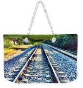 Railroad To Heaven Weekender Tote Bag