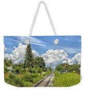 Railroad Track Weekender Tote Bag
