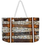 Railroad Track With Gravel 2 Weekender Tote Bag