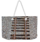 Railroad Track With Gravel Bed Weekender Tote Bag