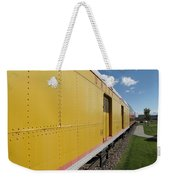Railroad Train Weekender Tote Bag