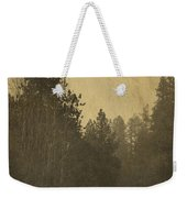 Rails In The Rogue Valley - Vintage Effect Weekender Tote Bag