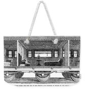 Railway Carriage, 1864 Weekender Tote Bag