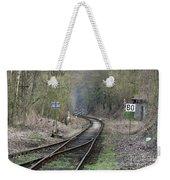 Railway Line Weekender Tote Bag