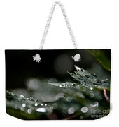 Rain Drop Bokeh Weekender Tote Bag