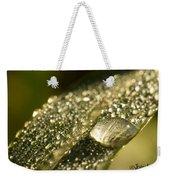 Rain Drop Weekender Tote Bag