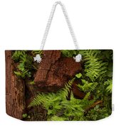 Rain Forest Abstract Weekender Tote Bag